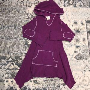 Ragdoll & Rockets Waffle hooded dress!